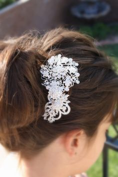 Bridal Hair Comb Wedding Hair Comb Wedding Hair by AbbyPlace