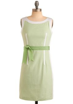 Port of Call Dress in Sea Green...very cute and work appropriate with a cardigan on top