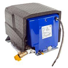 BBA Duiven artnr 30007 Whale boiler, gas / electrisch, 8 ltr, 12V/230V, gewicht (leeg) 8 kg