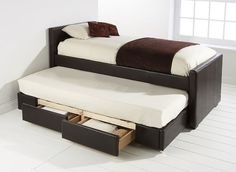 Trundle Bed with Drawers from Furniture Solutions