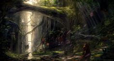 Pathways to the Sky by echo | ImagineFX