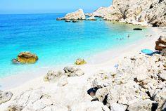 kefalonia, petani beach, greece