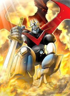 Great Mazinger by EnricoGalli.deviantart.com on @DeviantArt