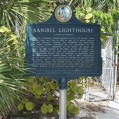 Visit the Sanibel Lighthouse on Sanibel Island, FL!