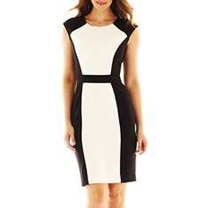 London Style Collection Sheath Dress
