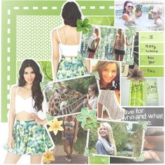 """""""{51.} Take me to your best friend's house going round this round-a-bout, oh yeah. ♡"""" by vs-bombshell ❤ liked on Polyvore"""