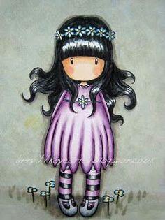 Gorjuss doll #gorjuss #art #bamboline #disegni #illustrazioni #doll #cute