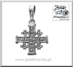 Srebrny krzyż laskowany – Jerozolimski / silver Jerusalem cross ✝️💎🛍🛒 Zwanym również krzyżem palestyńskim. Krzyż symbolizuje pięć ran ukrzyżowanego Chrystusa. Firma Jubilerska Tadeusz Perka - Jubiler Tychy #srebrny #krzyż #laskowany #jerozolimski #silver #jerusalem #cross #wisiorek #symbol #krzyżyk #jubilertychy #krzyżem #palestyńskim #jerozolima #jubiler #tychy #foto #naprezent #jeweller #tyski #złotnik ➡ www.jubilertychy.pl/promocje 💎 Jerusalem Cross, Symbols, Letters, Silver, Letter, Lettering, Glyphs, Calligraphy, Icons