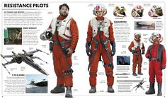 Resistance Pilots -   Pages From The Force Awakens Visual Dictionary - Album on Imgur ...