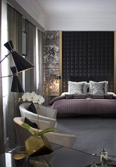 Luxury Design Hotel Suite in Portugal - Expolore the best and the special ideas about Hotel interiors Luxury Interior Design, Best Interior, Luxury Decor, Decoracion Vintage Chic, Mid Century Bedroom, Century Hotel, Decoration Inspiration, Decor Ideas, Decorating Ideas