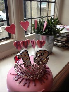 Princess / Cinderella themed 18th Birthday Cake with ...