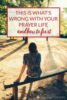 Are you making this mistake in your prayer life? I think we all do from time to time. via @lynnae_mccoy