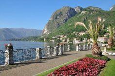 Promenade of Menaggio, Lake Como, Italy