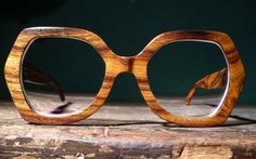 Dig these frames. I'm strongly favoring wood for my new pair. Wooden Sunglasses, Wooden Frames, Specs, Pairs, Urban, Eye, Accessories, Glasses, Wood Frames