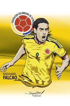 Estrella del fútbol Colombiano