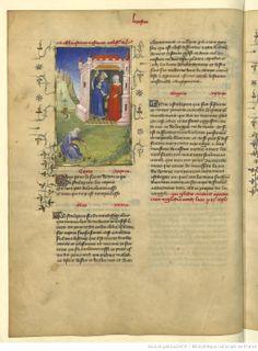 L'Epistre Othea à Hector, fol Medieval, Books, Barrel, Libros, Book, Mid Century, Middle Ages, Book Illustrations