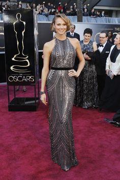 Stacy Keibler in Naeem Khan, Oscars 2013. My runner-up.