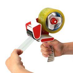 """50mm (2) Heavy Duty Tape Gun Dispenser Holder Box Parcel Packing Hand Tool """""""