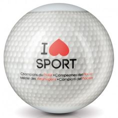 "Masturbateur ""I Love Sport - Golf"" de Plaisirs Secrets."