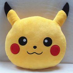 Pikachu Pokemon plush toy Pillow #Magic #Cartoon