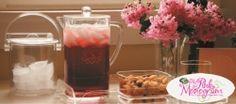 Monogrammed Acrylic ice bucket and pitcher