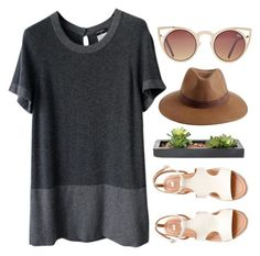 """Untitled #821"" by maartinavg ❤ liked on Polyvore featuring Chanel, Reiss, Quay and H&M"