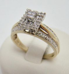 US $195.00 Pre-owned in Jewelry & Watches, Engagement & Wedding, Engagement Rings