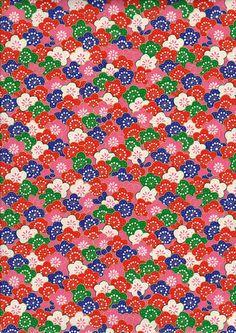 Cherry Blossom Japanese Yuzen Chiyogami Washi Paper