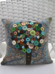Suzy+Recycled+Cashmere+Cardigan+Tree+Pillow++by+tallulahssatchels,+$37.00