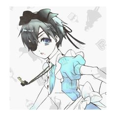 ciel in wonderland on Tumblr ❤ liked on Polyvore featuring anime and manga