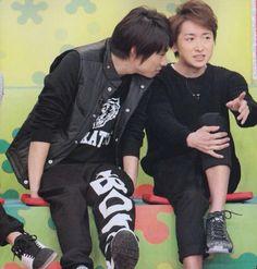 Ohno Satoshi × Aiba Masaki♡ my two loves from Arashi ❤️❤️