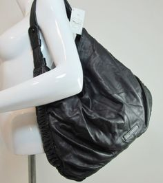 ROCHA JOHN ROCHA BLACK QUALITY LEATHER BIG SLOUCH SHOULDER BAG HANDBAG PURSE T75 http://stores.ebay.co.uk/Sangriasuzies-Emporium http://www.sangriasuzie.com/ If any of the  items pictured in this blog/pin take your fancy they can be bought from one of the above addresses.  Or e-mail me at drobertshq@hotmail.com   if you need more info.