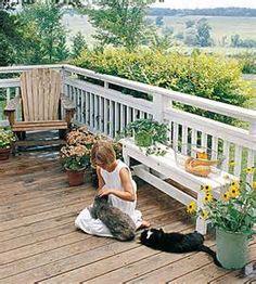 Deck Railing Ideas - Planning & Design - How to Design & Build a Deck ...