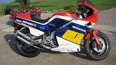 Honda NS400R 3 cylinder 2 stroke  http://raresportbikesforsale.com/tag/nsr400/