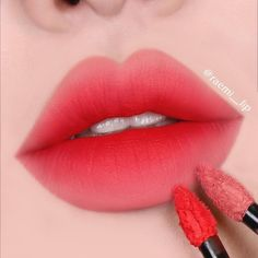 lip sens The Effective Pictures We Offer You About Lip Makeup creative A quality picture Korean Makeup Look, Asian Makeup, Makeup Inspo, Makeup Inspiration, Beauty Makeup, Lipstick Colors, Lip Colors, Korean Lips, Gradient Lips