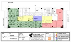 Office layout with many cubicles. #officelayout