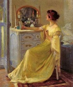 History And Other Thoughts: At Her Vanity