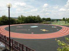 Running Track and Playground Markings
