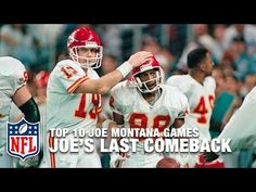 #9: Montana's Last Comeback ('93 Divisional Playoffs) | Top 10 Joe Montana Games of All Time - YouTube