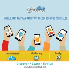 Global infocloud is the best marketing company in pune. Global Infocloud helps you to automatate your business with minimum manual intervention and ease your business. #mobileapp #mobile #mobileappdeveloper #appdeveloper #appdeveloperservices #digitaladvertising #businessautomation #digitalmarketing #onlineservice #globalinfocloud #pune Best Marketing Companies, Best Digital Marketing Company, Digital Marketing Services, Pune, App Development, Business Design, Mobile App, Web Design, Learning