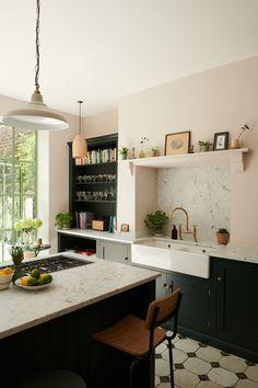 Home, Kitchen Design, Kitchen Inspirations, Kitchen Renovation, Devol Kitchens, Kitchen Dining, Old Kitchen, Basement Kitchen, 70s Kitchen