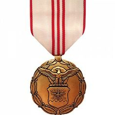 The Air Force Outstanding Civilian Career Service Award Medal is granted to employees of the Air Force that exhibit significant achievements, leadership, unconventional competence, and notable impact upon the Air Force mission throughout the employee's career.