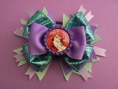 Ariel the Little Mermaid  Hair Bow
