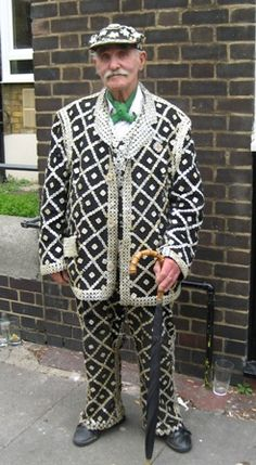 Pearly Kings & Queens were crowned in Bethnal Green today! Lots of lovely ladies but I loved this! Photograph by Gillian Horsup.
