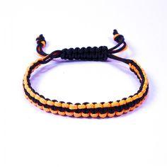 Vous aller adorer ce #bracelet Brésilien orange et noir pour donner une touche de couleur à vos tenues!