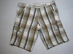 Mens Levis SilverTab Cargo Shorts Paid Sz 36 100% Cotton ( Measure 38X12 ) #Levis #Cargo