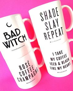 #SQUAD!!  COFFEE MUGS!  Fully restocked on our site! Check it out and get these hot mugs for yourself or your favorite friend !!  . . . . . #coffeemug #vanity #beautyroom #fashion #lifestyle #decor #goodwitch #homedecor #interiordesign #kitchen #coffeemugs #homedesign  #officedecor #shadeslayrepeat #shade #slay #peonies #melanin #badwitch  #coffeemug #drinkware  #tea #buzzfeed #latte #coffee #planner #planneraddict #plannerstickers #plannercommunity #sugarluxeshop sugar luxe shop