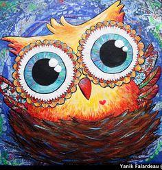 owl by Yanik Falardeau