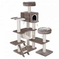 Arbre à chat Maison en pain d'épices XXL sur laVieDesChats.com