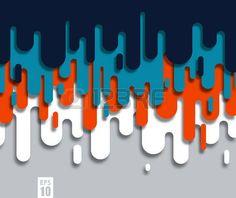 pintura chorreando: Resumen de vectores de fondo con pintura